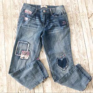 Lei Blue Denim Jeans Pants Sz 14 NWOT